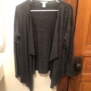 H&M grey soft cardigan
